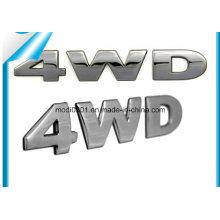 Chrome Car Logo, Plastic Chrome Lettering, Custom 3D ABS Car Stickers
