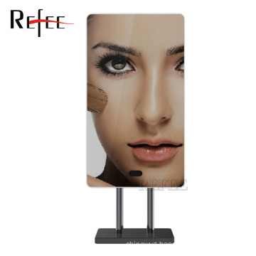 Refee 13.3inch LCD Monitor magic mirror with ad management software/wifi