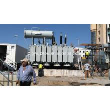 Transformateur de puissance extérieure 115kV / 80000 kVA OLTC en Albanie