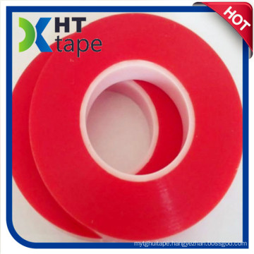 2016 Hot Sale Red Film Pet Double Sided Tape Stead of Tesa 4965