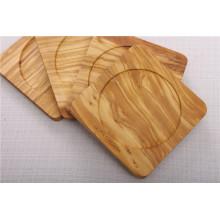 Olive Wood Coaster Set Of 4