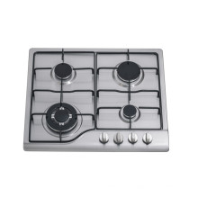 FOUR BURNER STEEL SURFACE HOUSEHOLD GAS COOKTOP BUILT IN GAS STOVE