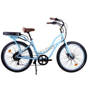 2015 à la mode design CE pas cher bleu couleur plage cruiser vélo électrique