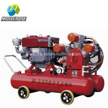 W-3.0/5 air compressor with jack hammer YT24