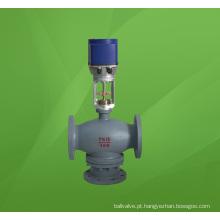 Válvula Reguladora de Fluxo de Mistura Elétrica de Três Vias (3 vias) (ZDLQ)