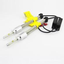 La lámpara del coche al por mayor r4 9600lm 80w h3 sistema de iluminación auto de la linterna h1 h4 llevó 4300k