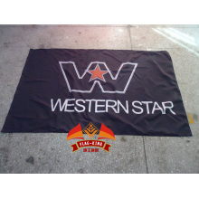 Western Star Trucks Racing Flagge Electric RC Cars Banner 100% Polyester 90 * 150CM Flagge Western Star Banner