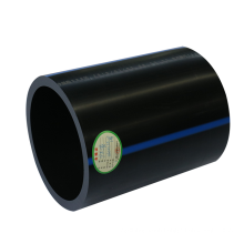 China manufactures producing pn8 - 1.6 high density water  plastic hdpe pipes