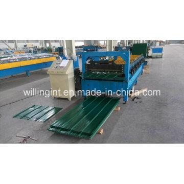 Dach- und Wandwalzenformmaschine aus verzinktem Stahl
