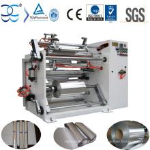 Machine de rembobinage en feuille d'aluminium de haute qualité