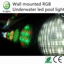 Luz de piscina led subacuática RGB montada en la pared