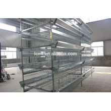 Poultry farming equipment for laying hens battery cage
