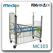 MC103 Equipamento hospitalar cama de enfermagem infantil cama pediátrica à venda