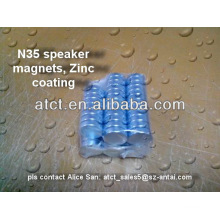 Sintered rare eath disk D20x5mm neodymium magnet for speaker