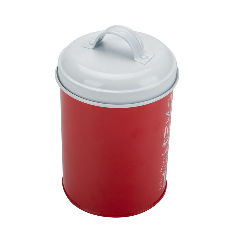 White Coffee Sugar Tea Canister