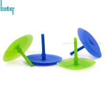 Clapet anti-retour de champignon de parapluie en caoutchouc de silicone à sens unique