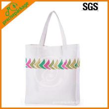 robuste wiederverwendbare maßgeschneiderte Baumwolle Shopping Griff Tasche