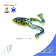 FGL016 cor personalizada isca artesanal de salto macio sapo isca de pesca