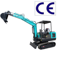 China Digger Mini 08 Portable Earth Machine 0.8 Ton Crawler 3 E para venda Auger Excavator