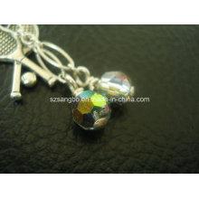 Cadena de cuentas de vidrio para regalo de la promoción