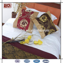 Kundenspezifische Stickerei-Sofa-Kissen-Abdeckungs-Baumwolle