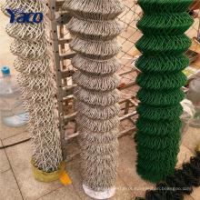 Atacado zinco revestido de quadra de tênis elo da cadeia