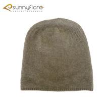 Slouchy chapéu de gorro de inverno de caxemira