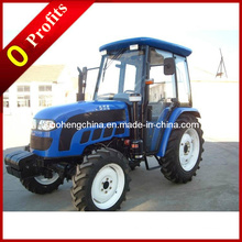 55HP 4WD Farming Wheel Tractor / Agricultural Tractor Dq554