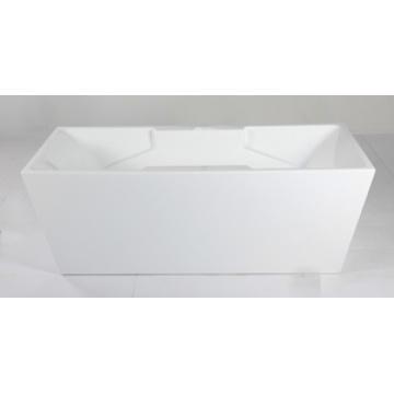 Bañera cuadrada de acrílico de interior