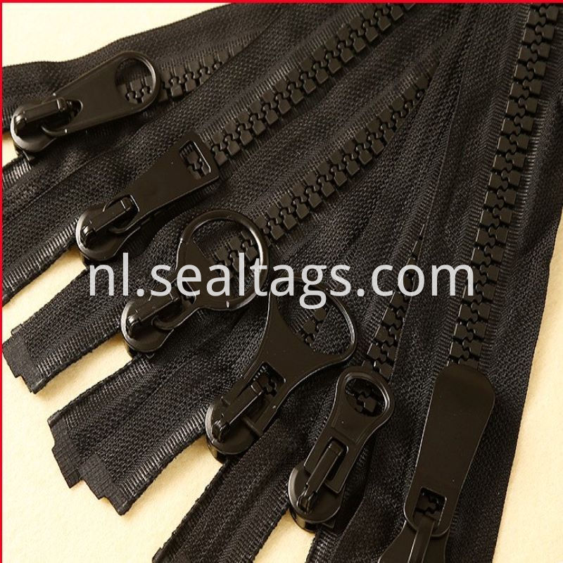 Black Standard Zipper