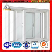 Ventanas correderas de aluminio para la construcción