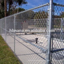Galvanized used chain link fence / chain link fence panels