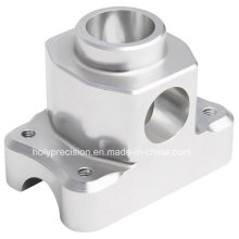 CNC Machining Aluminum Parts with Silver Anodized