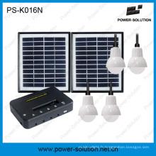 Vente d'usine du système d'éclairage maison solaire pour le marché de l'Afrique