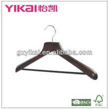 2013 fashion wooden clothes coat hanger