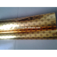 80g 100g 120g silver golden Aluminum foil paper for ice cream/chocolate wrapping