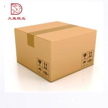 Profissional personalizado logotipo reciclável papelão ondulado grande caixa de embalagem de papel