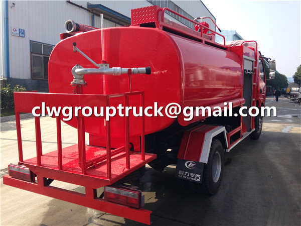 Fire Fighting Water Spraying Car