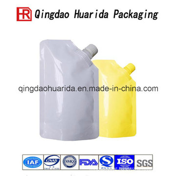 Stand up Laminated Material Liquid Spout Bag
