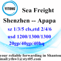 Shenzhen International Express Delivery Servizi alle Apapa