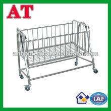 Nuevo producto de acero inoxidable swing cama bebé