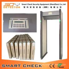 Secugate 550m Smart Check Security Metal Detector Walk Through Metal Detector