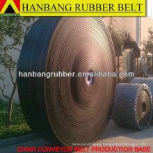 PVC sólido tejido transportadora de 1800