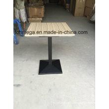 Table de repas de salle à manger de carré de biseau de Ss Bevel (FOH-BC46C)