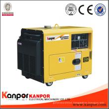 50Hz 5kw 5kVA Silent Air Cool 186fae Engine Portable Diesel Generator