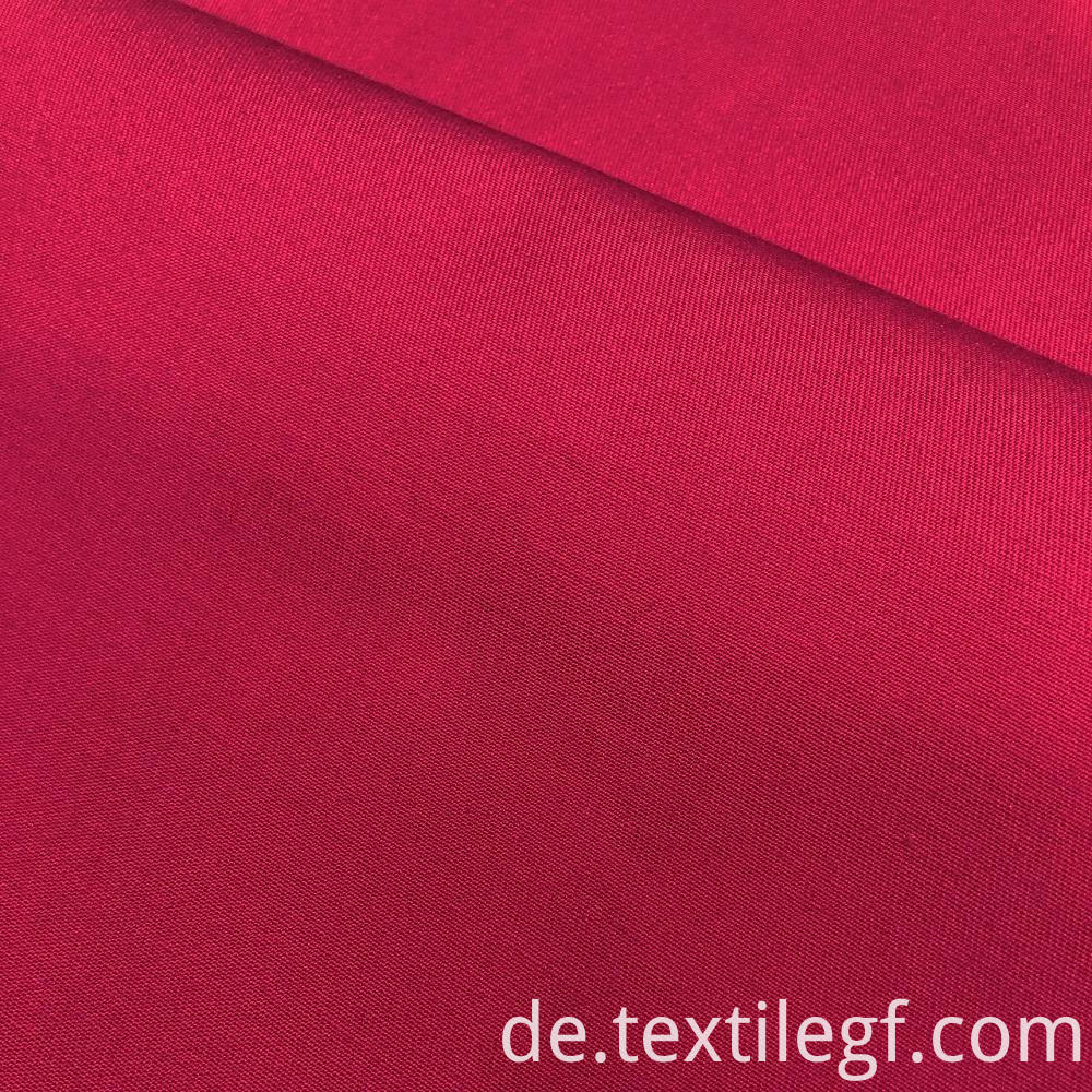 Pink Weft Stretch Fabric