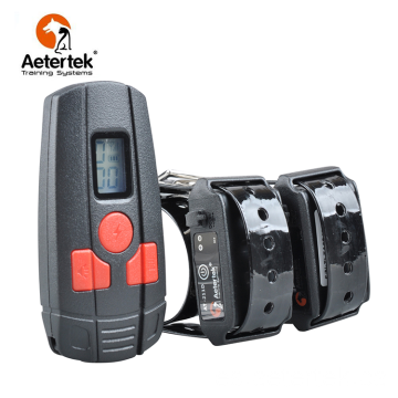 Aetertek AT-211D collar de choque para perros 2 receptores