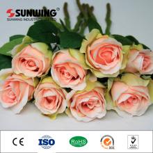 оптовая дешевые свадебные украшения искусственный Гортензия косули цветок