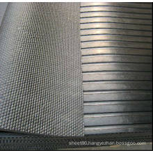 Wide Ribbed Front Stable Cow Rubber Mat