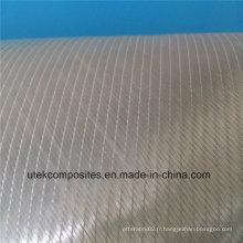 +/- 45 600GSM tissu de fibre de verre biaxial pour bateaux